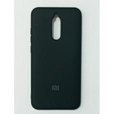Бампер для Xiaomi Redmi 8 Soft Touch Черный