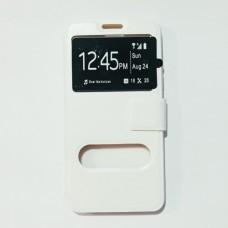 Чехол-книжка для Samsung A510 Белый