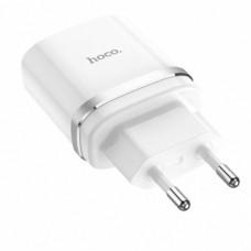 Сетевое зарядное устройство Hoco C12Q Белый