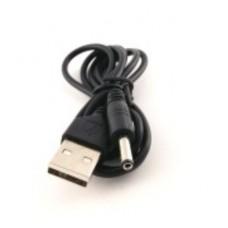 Кабель USB - DC 5.5 Черный