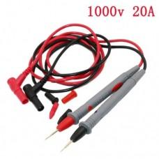 Щупы тонкие для мультиметра 1000V 20A Серый