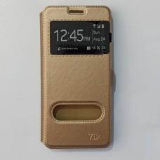 Чехол-книжка для Samsung A8 2018 Золотистый