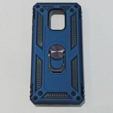 Бампер для телефона Xiaomi Redmi Note 9s/ Note 9 Pro противоуданый Синий
