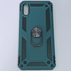Бампер для Xiaomi Redmi 9A Antishok противоударный Зеленый