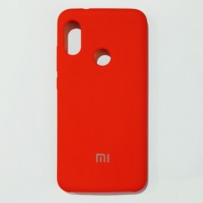 Бампер для Xiaomi A2 Lite, Redmi 6 Pro Soft Touch Красный