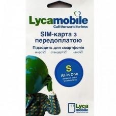 """Стартовий пакет LycaMobile """"S"""""""