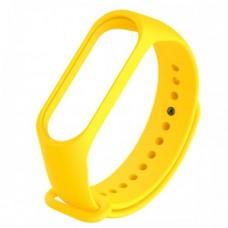 Ремешок для фитнес браслета Mi Band 5 Желтый