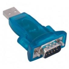 Переходник USB-RS232 CH340, последовательный Преобразователь, 9-контактный адаптер для Win7/8. Зеленый