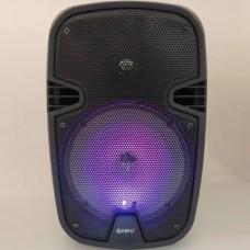 Портативна bluetooth колонка Kipo Q9 з мікрофоном Чорний