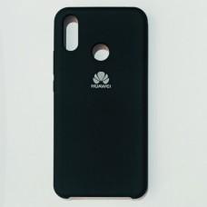 Бампер для Huawei P-Smart Plus/Nova 3i с пылеулавливателем Черный
