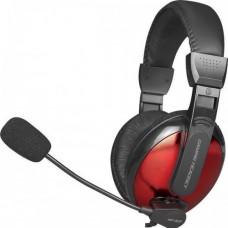 Навушники для ПК ігрові XTRIKE HP-307 BK Wired Чорний+Червоний