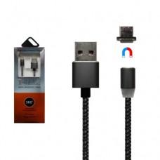 Кабель магнітний  X-Сable micro USB Чорний