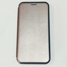 Чехол книжка для Xiaomi Mi Note 10 Серый