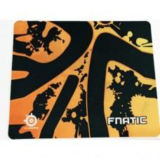 """Коврик для мышки """"Fnatic"""" 200х240 мм. Черный+Оранжевый"""