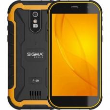 Смартфон Sigma X-treme PQ20 Black+Orange