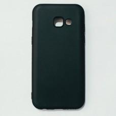 Бампер для Samsung A320 Черный