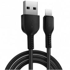 USB кабель Hoco X20 Lightning 2 метра Черный