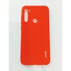 Бампер для Xiaomi Redmi Note 8T Smit Красный