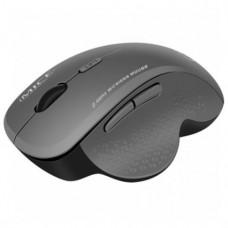 Бездротова ергономічна комп'ютерна мишка 6 кнопок Сірий