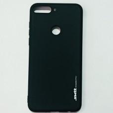 Бампер для Huawei Y7 2018 Smit Черный