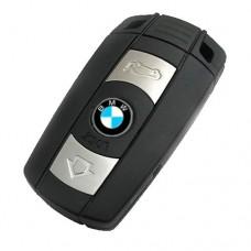Смарт-ключ для BMW CAS3 868 МГц для серии 1/3/5/7 X5 X6 Z4 Черный