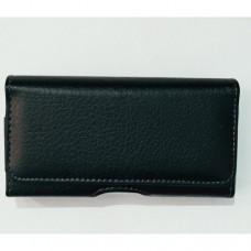 Универсальный чехол на пояс для телефона 5,0 дюймов Черный