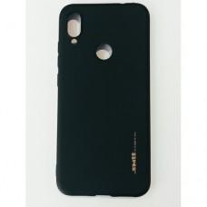 Бампер для телефона Xiaomi Redmi Note 7/7 Pro Smit Черный