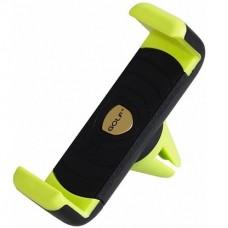Автомобильный держатель телефона Golf GF-CH01 Черный+Зеленый