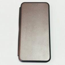 Чехол книжка Fashion для Xiaomi Redmi Note 10 Серый