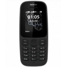 Телефон Nokia 105 Dual Sim (TA-1174) Black