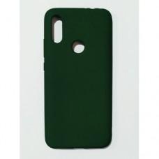 Бампер для Xiaomi Redmi 7 Зеленый