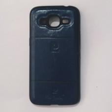 Бампер для Samsung j210 Синий