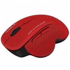 Бездротова ергономічна комп'ютерна мишка 6 кнопок Червоний