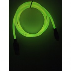Светящиеся USB кабель Hoco Х21 Plus micro usb 1 метр Желтый
