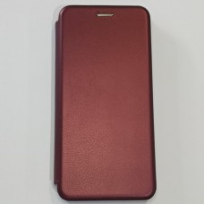 Чехол книжка для Samsung M51 Fashion Бордо