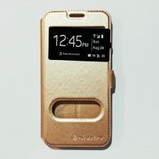 Чехол-книжка для Samsung J5 Prime Золотистый