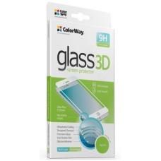 Защитное стекло для Samsung A720 3D Черный