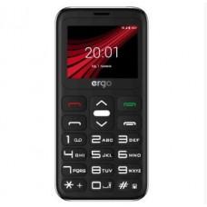 Телефон Ergo F186 Solace Black