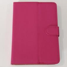 Чехол-книжка для планшета 7 дюймов с карманом Малиновый