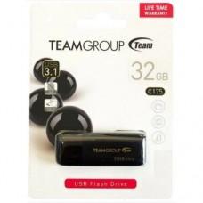 USB Flash накопитель Team Group C175 32GB 3.0 Черный