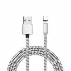 Магнитный кабель Type-C X-cable Серебристый