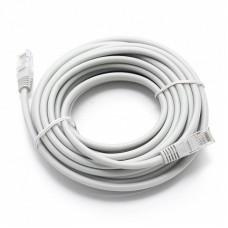 LAN интернет кабель 5 метров Белый