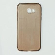 Бампер для Samsung A720 Прозрачный Темный