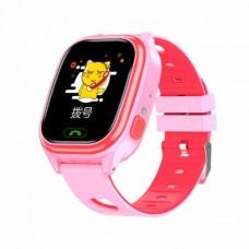 Smart Baby Watch Y85 Розовый+ Красный